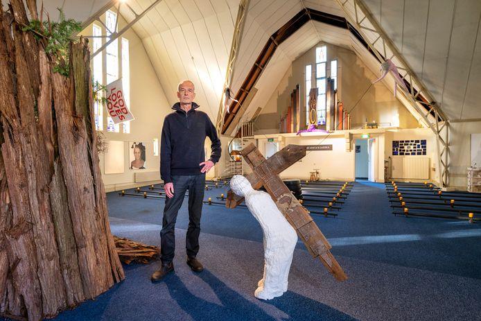 Kunstenaar Jacques Blommestijn houdt een tentoonstelling in de Open hof kerk.