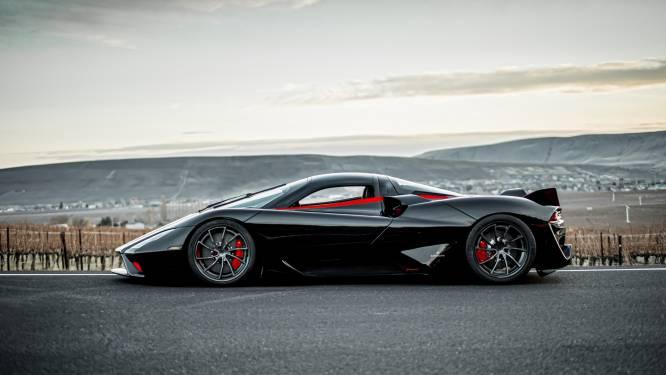 """""""SSC Tuatara overtreft 483 km/u en is nu snelste auto ter wereld"""""""