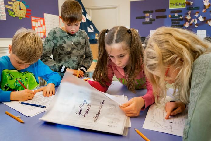 Basisschool 't Talent in Schijndel is een mooi voorbeeld van hoe 'passend onderwijs' eruit zou kunnen zien.