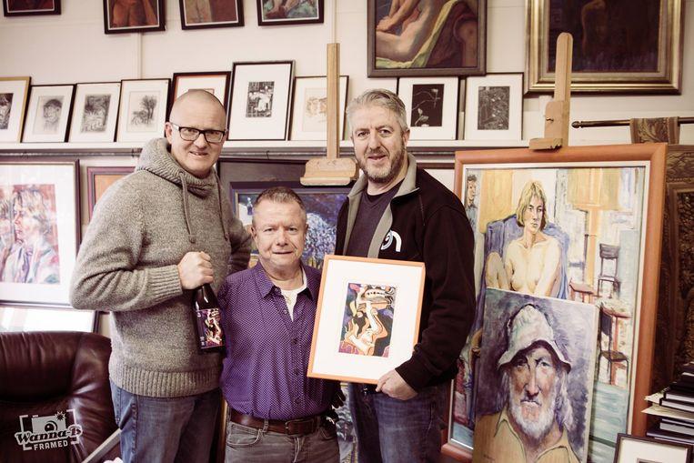 """""""Ik ben vereerd dat Brouwerij Hoplinter mij heeft uitgekozen om een kunstwerk te maken dat als bieretiket kon worden voorzien."""""""