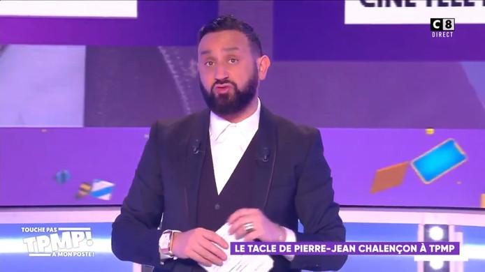 """Cyril Hanouna a répondu à Jean-Pierre Chalençon sur le plateau de """"Touche pas à mon poste""""."""