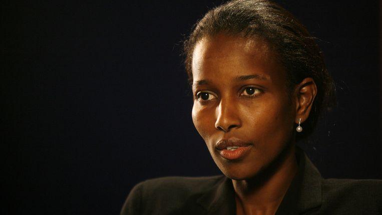 Ayaan Hirsi Ali. Beeld ap