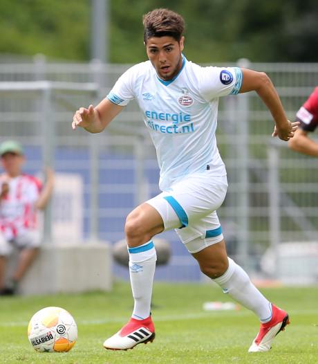 Maxi Romero maakt bij Jong PSV tegen FC Eindhoven debuut in de Keuken Kampioen Divisie