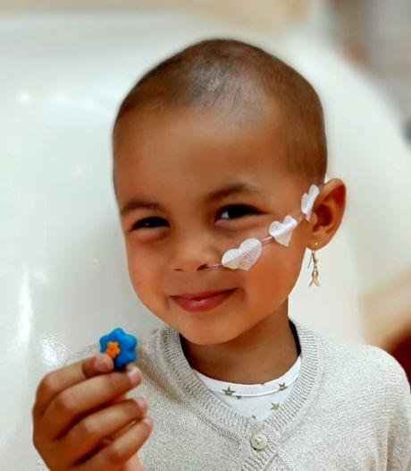 Geweldig nieuws! Botkankerbehandeling 3-jarige Eva  slaat aan
