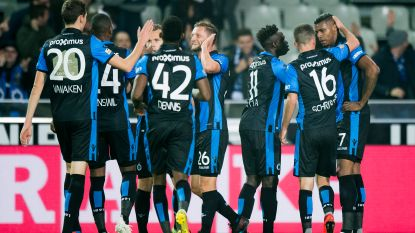 VIDEO. Club Brugge legt Standard makkelijk over de knie en nestelt zich weer in het spoor van Racing Genk