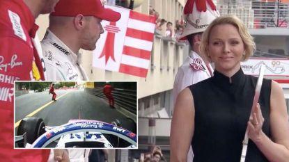 De podiumgeste van prinses Charlene en een drama dat maar nét vermeden werd: ook dit was de GP van Monaco