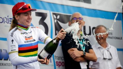 KOERS KORT. Van der Breggen wint in Plouay - Schurter pakt 8ste wereldtitel
