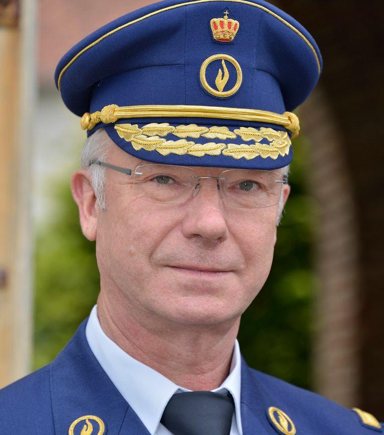 Hoofdcommissaris Pierre Schippers.