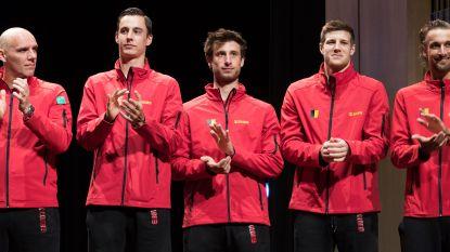 """Belgisch Davis Cup-team gaat in Nashville op zoek naar stunt van formaat tegen Verenigde Staten: """"Samenstelling dubbelpaar kan nog veranderen"""""""