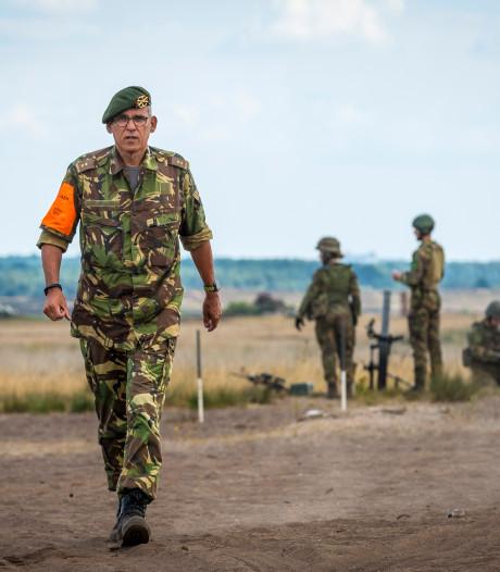 Legercommandant maakte zich 'geen moment zorgen' bij enorme heidebrand
