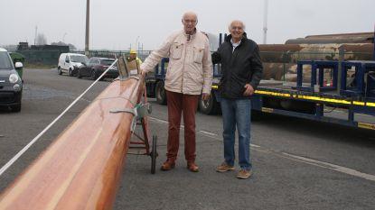 Daar is de mast! Legendarisch schip van Jacques Brel bijna volledig gerestaureerd