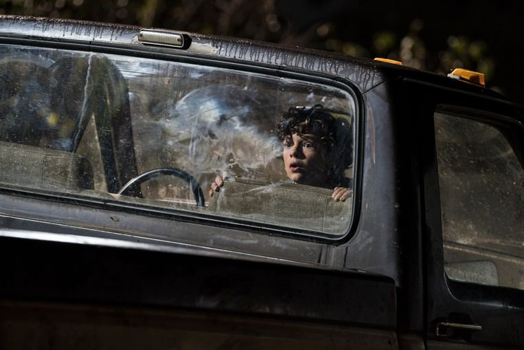 Noah Jupe in A Quiet Place. Beeld rv
