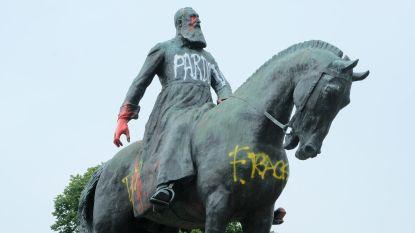 Driekwart Brusselaars is tegen verwijderen van Leopold-standbeelden