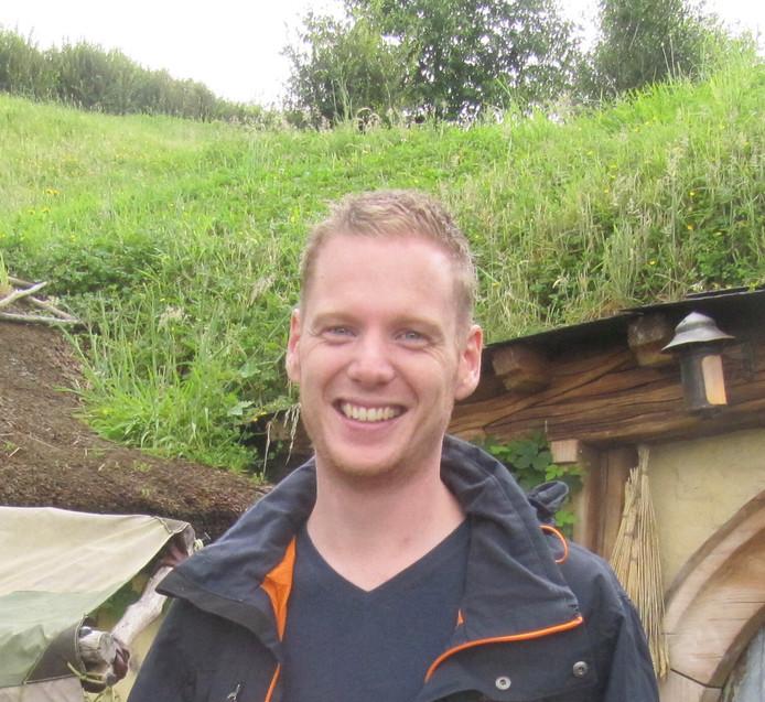 Verslaggever Pim Dikkers