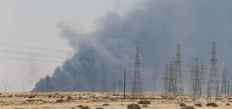 'Saoedi-Arabië halveert olieproductie na drone-aanval'