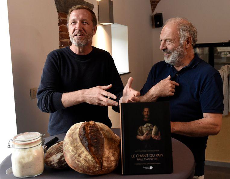 Presentatie vandaag van het nieuwe boek 'Le Chant du Pain' van Paul Magnette.