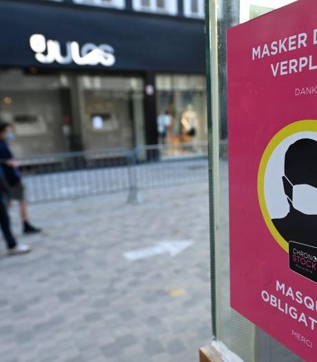 Le masque sera obligatoire sur trois artères commerçantes de la Ville de Bruxelles