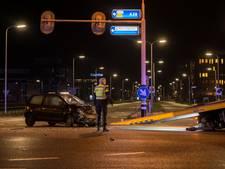 Twee gewonden na botsing in Zwolle
