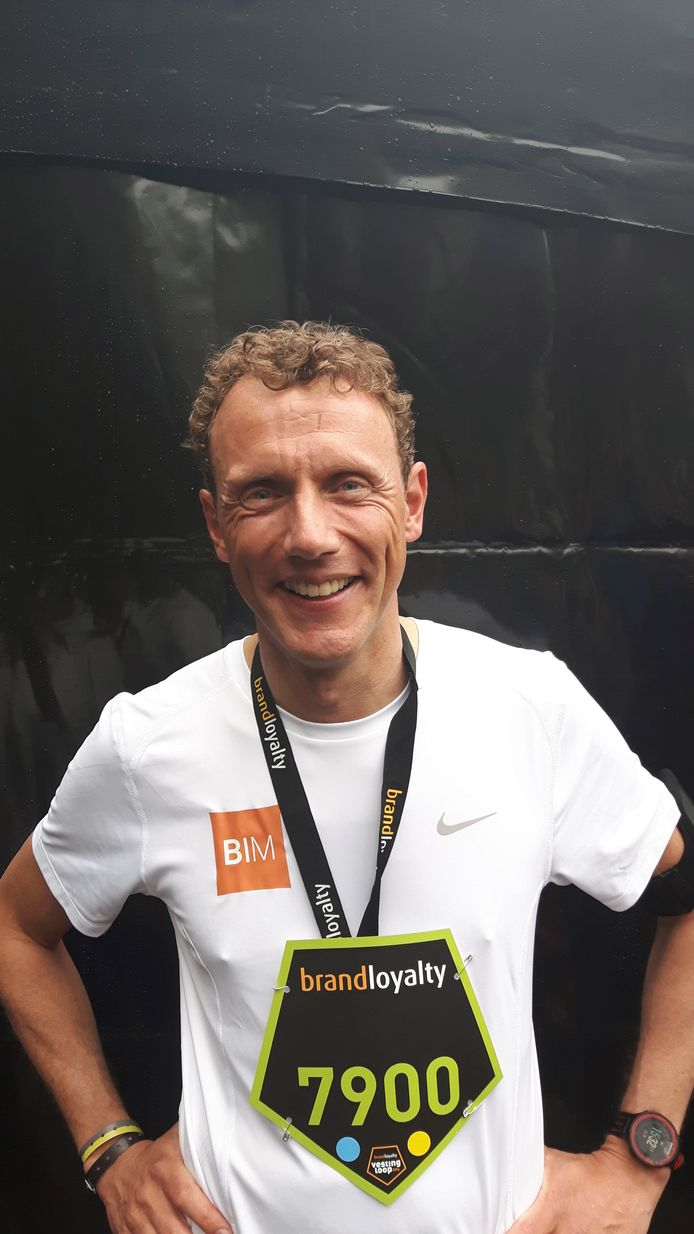 Maurice Horsten, voorzitter van stichting Vestingloop.