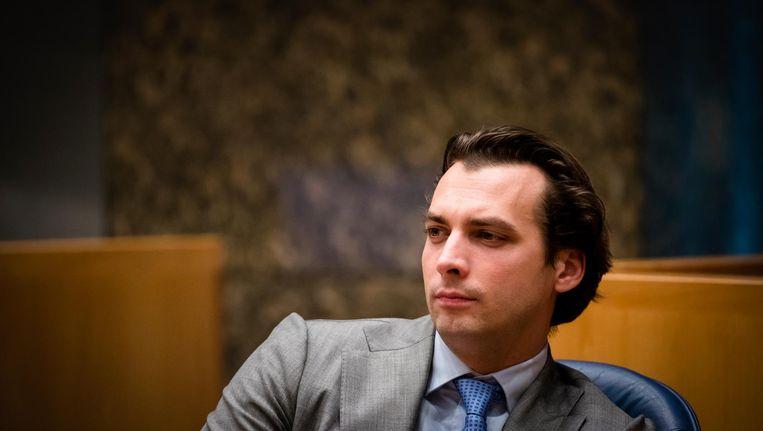 De partij van Thierry Baudet zou uitkomen op vijftien zetels. Beeld anp