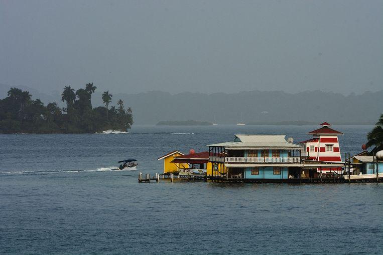 Het koppel baat Laylow Bocas uit, in het noordwesten van Panama.