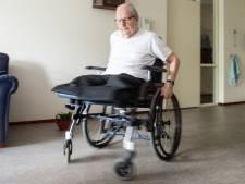 Joop uit Dongen danst gewoon door, dan maar zonder benen