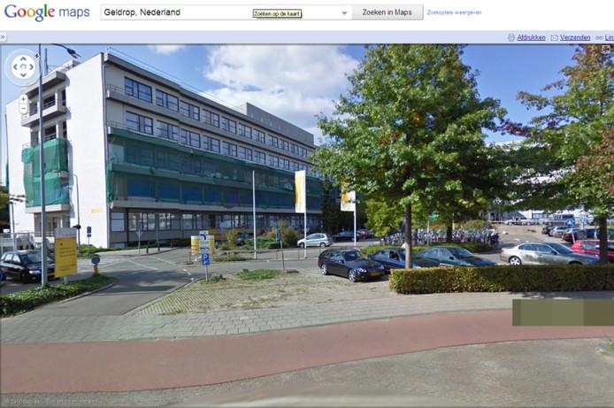 Het Sint-Annaziekenhuis in Geldrop. Bron: Google Street View