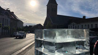 Wanneer smelt ijskubus op Wapenplaats?
