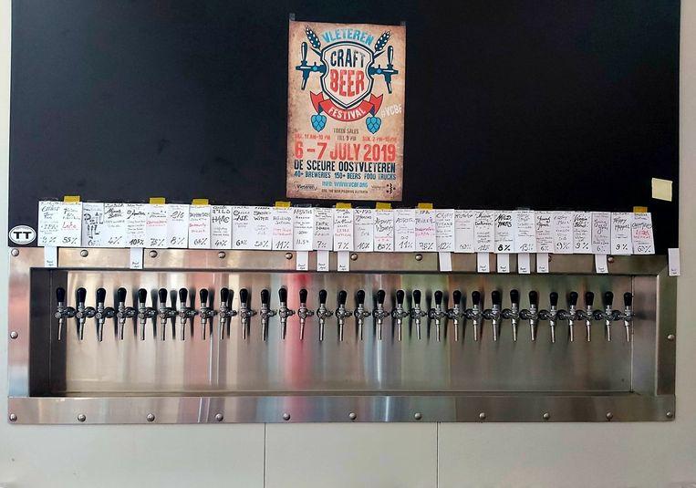 De Struise Brouwers hebben minstens dertig bieren op vat.