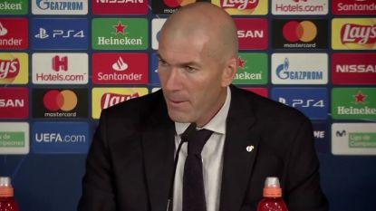 """Zidane: """"Als we Club hele match onder druk hadden gezet, was er van hen geen sprake geweest"""""""