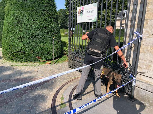 Vrijdagochtend deed er zich opnieuw een incident met een springtuig voor in Park Den Brandt.