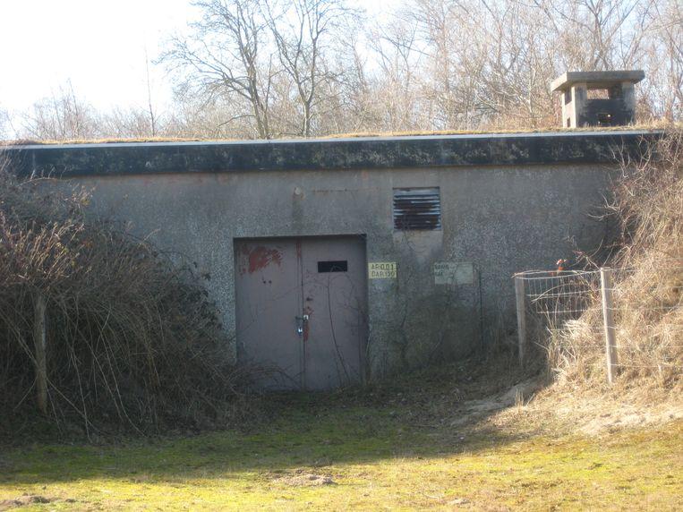 'Combat Operation Centre'-bunker in De Panne.