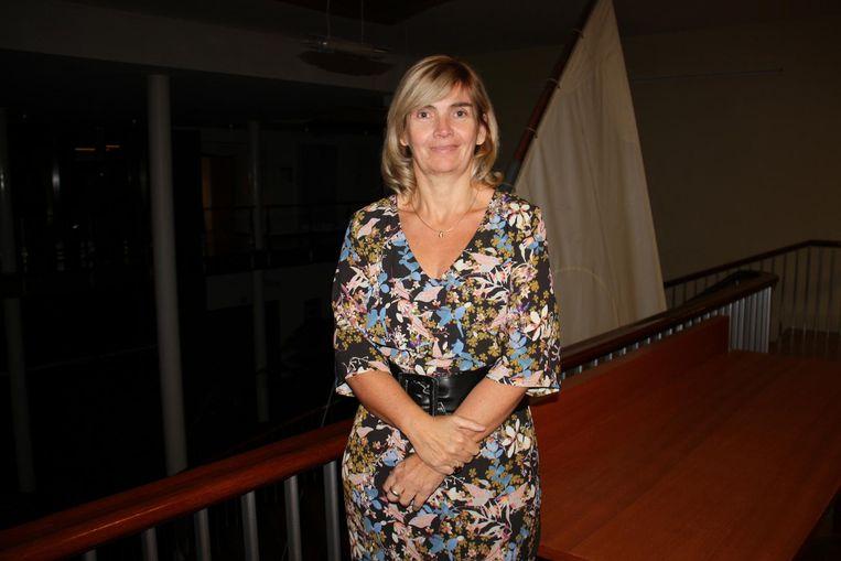 Lijsttrekster Cindy Verbrugge.