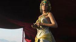 Cleopatra en Julius Caesar duiken op in nieuwe trailer Assassin's Creed