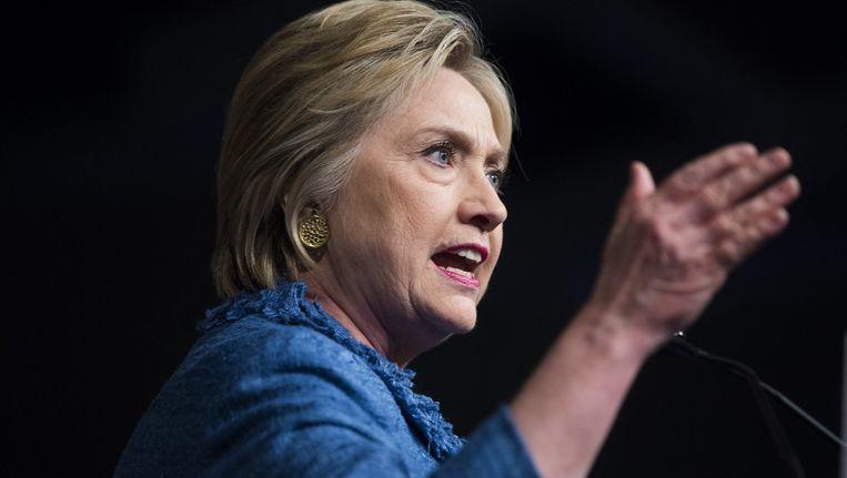Hillary Clinton Beeld epa