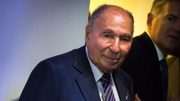 De Franse luchtvaartindustrieel Serge Dassault.
