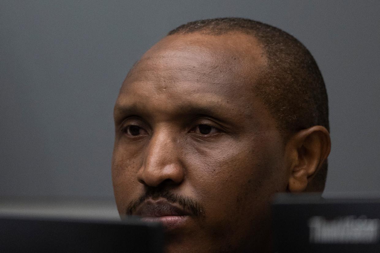 CBosco Ntaganda in de rechtbank van het Internationaal Strafhof.