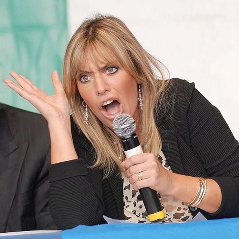 Alessandra Mussolini.
