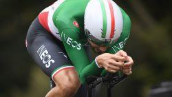 Talentvolle Ganna triomfeert in korte tijdrit BinckBank Tour, Wellens blijft leider