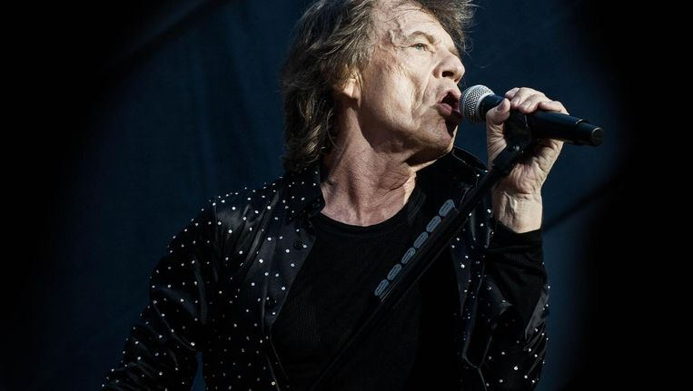 Mick Jagger: nog altijd zo fit als een olympisch atleet Beeld Anjali Ramnandanlall