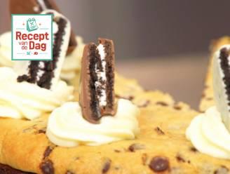 Recept van de dag: Brownie oreo chocolate chip cookie cheesecake