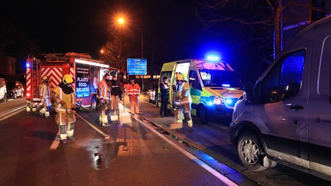 Drie lichtgewonden bij kop-staartaanrijding op Schrijberg