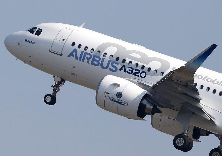 Een Airbus A320neo.