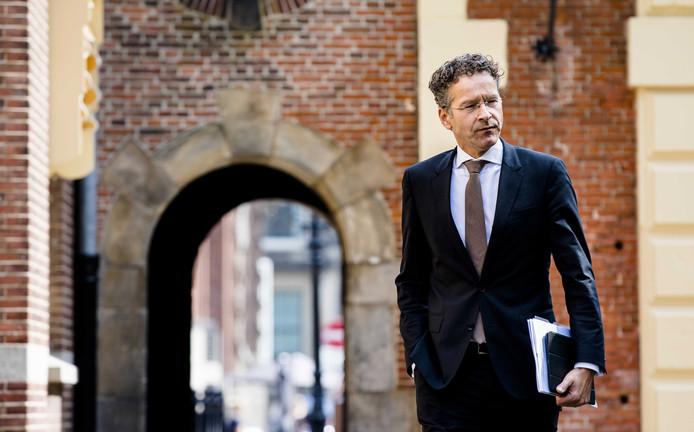 Minister Jeroen Dijsselbloem van Financiën.