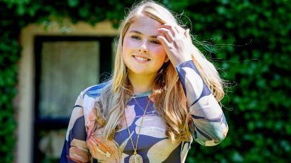 Nederlandse prinses Amalia wordt 15, maar haar volk kent haar nauwelijks