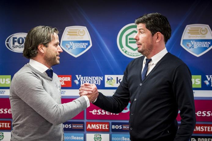 Ernest Faber en Erwin van de Looi.
