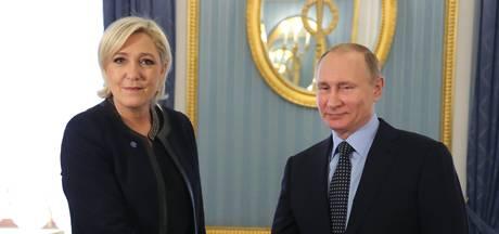Onverwacht bezoek Le Pen aan Poetin