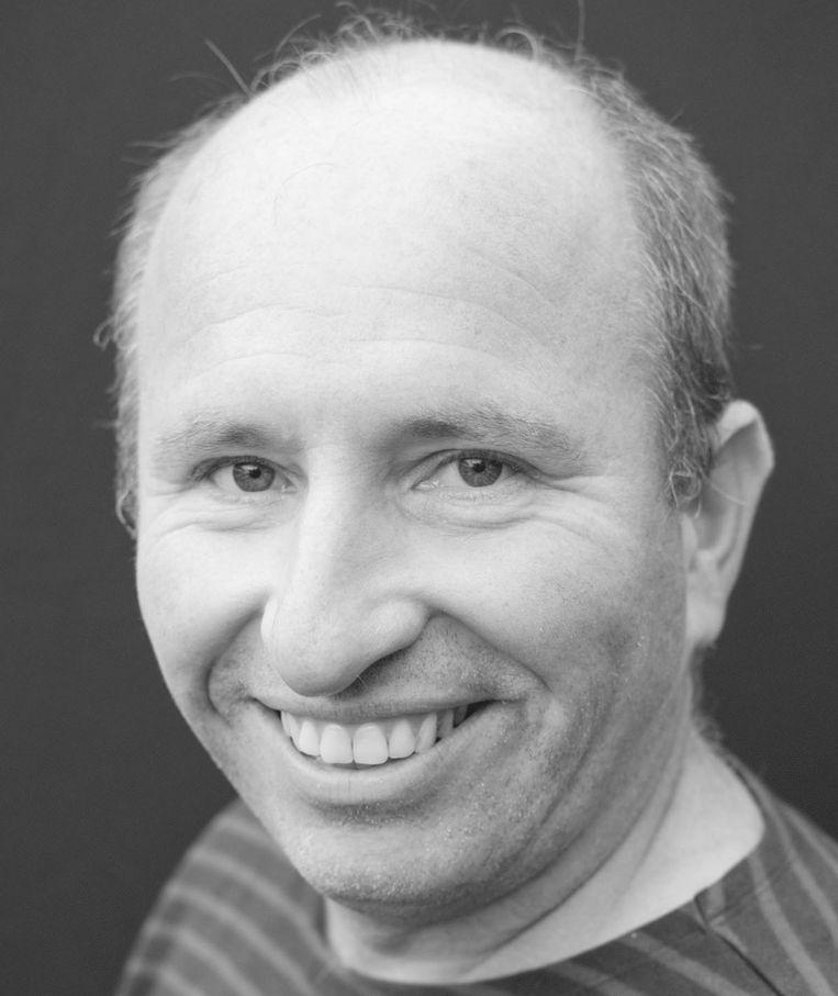 Wilco Fuhler, leerkracht: 'Je wil soms ook over voetbal kunnen praten met collega's'. Beeld