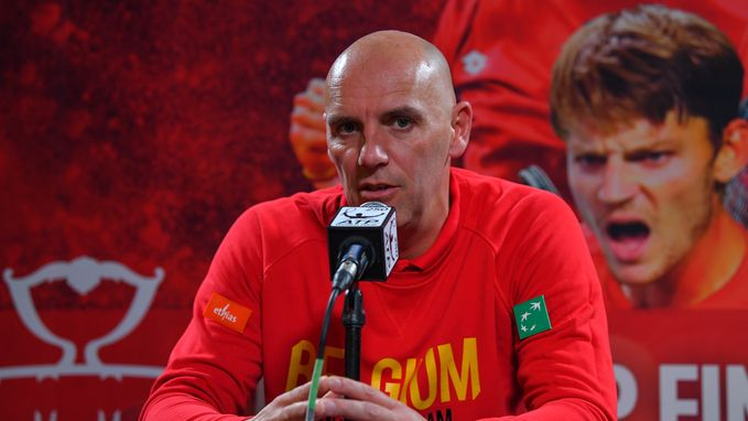 """Johan Van Herck: """"Meer kansen in Davis Cup-finale dan twee jaar geleden tegen Britten"""""""