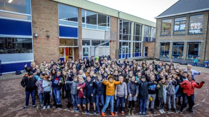 97 leerlingen zamelen 16.000 euro in